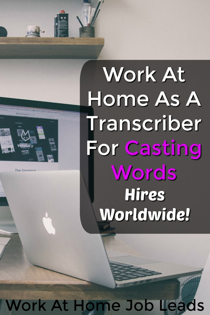 Do You Want To Work At Home? Learn How You Can Do Freelance Transcription From Home At CastingWords!
