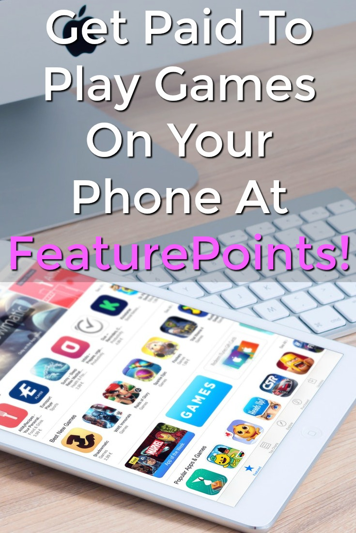 Did you know you could get paid to download your favorite app games and play them? At Featurepoints they'll pay you cash!
