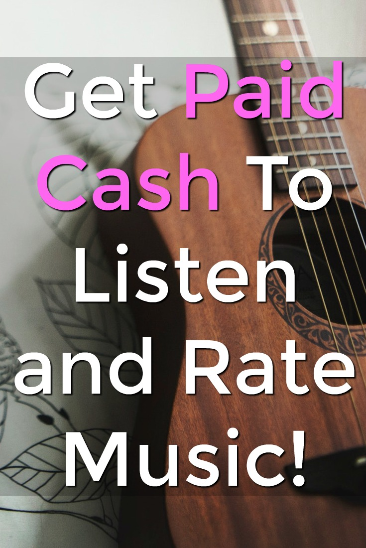 Did you know you could get paid to listen to music? At Slice The Pie you can earn cash for listening and giving your feedback on popular music!